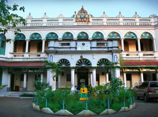 Hotel bilder: Chettinadu Mansion – An Authentic Heritage Palace
