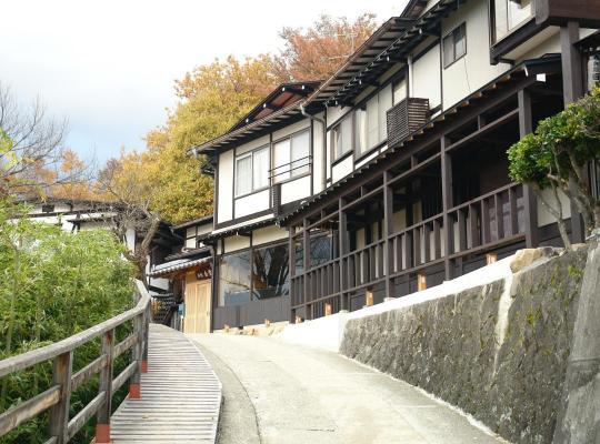 Фотографии гостиницы: Hidatakayama Futarishizuka Hakuun