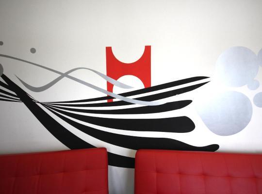 Fotografii: Botxo Gallery - Youth Hostel Bilbao
