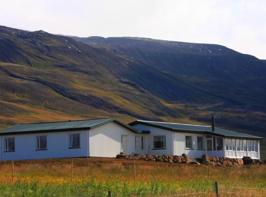 Viesnīcas bildes: Hofsstadir Farmhouse