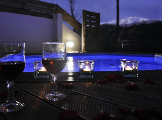 Ảnh khách sạn: Villa Lakki The View with Heated round pool Jacuzzi