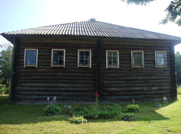 Дом для отдыха в деревне Воробьи, Кижи