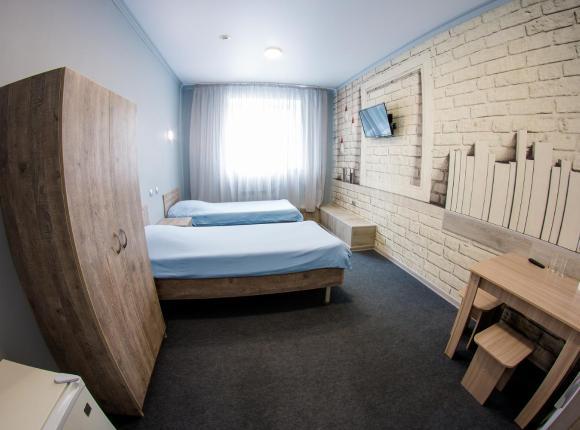 Гостиница Три пескаря, Курск