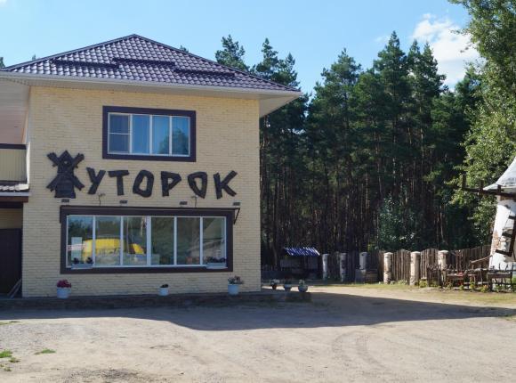 Гостиница Хуторок, Павловск (Воронежская область)