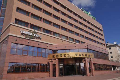 Гостиница Тайга, Братск