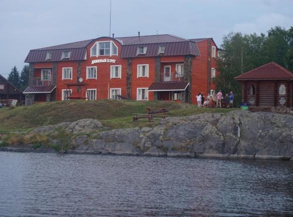 Отель Длинный берег, Питкяранта