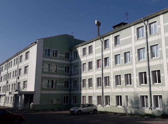 Общежитие гостиничного типа Новомосковского института повышения квалификации, Тульская область