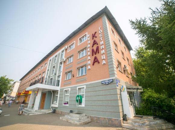 Гостиница Кама, Нефтекамск