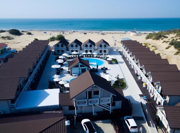 Отель Белый пляж, Джемете