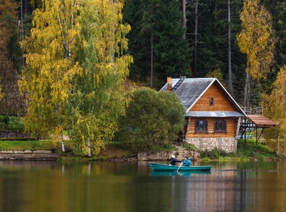 База отдыха Приют Охотника, Ключи (Новгородская область)