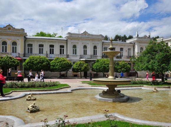 Санаторий Нарзан корпус Курортный, Кисловодск