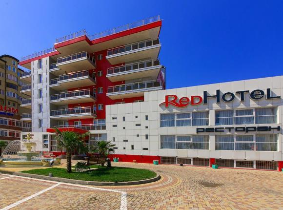 Отель Red Hotel, Анапа