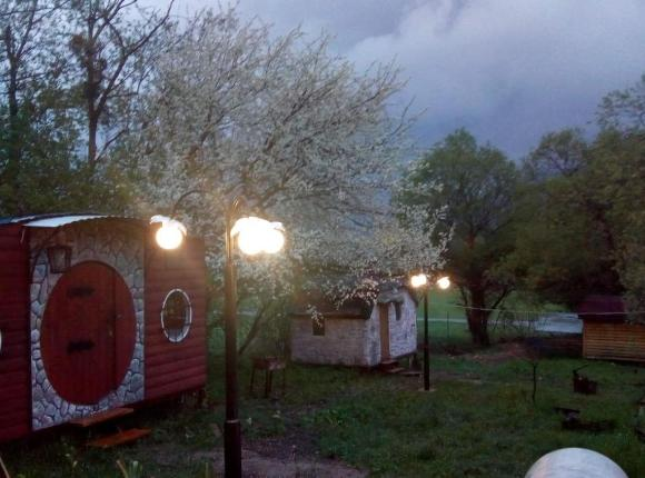 Кемпинг Вишневый сад, Псебай