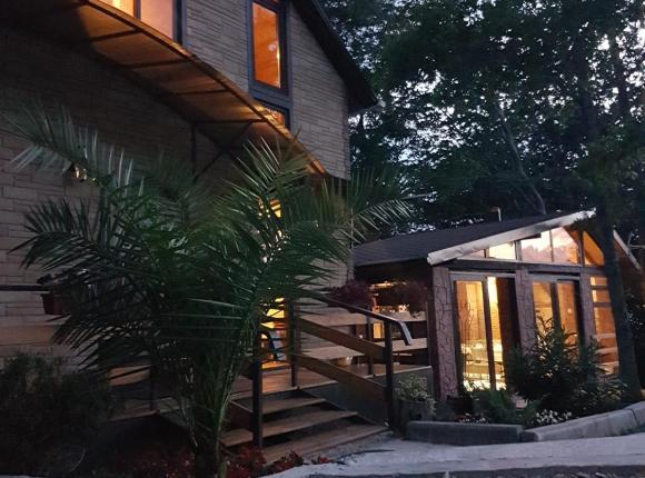 Дом для отпуска ЭкоДомик, Нижняя Хобза