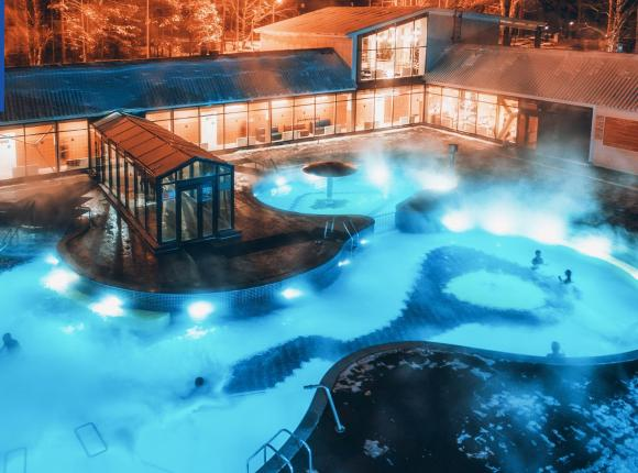 База отдыха Открытый термальный бассейн, Тюмень