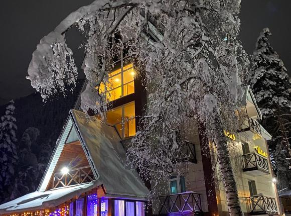 Отель Шале, Домбай