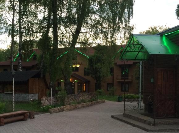 Гостиница Русский Лес, Новомосковск, Тульская область