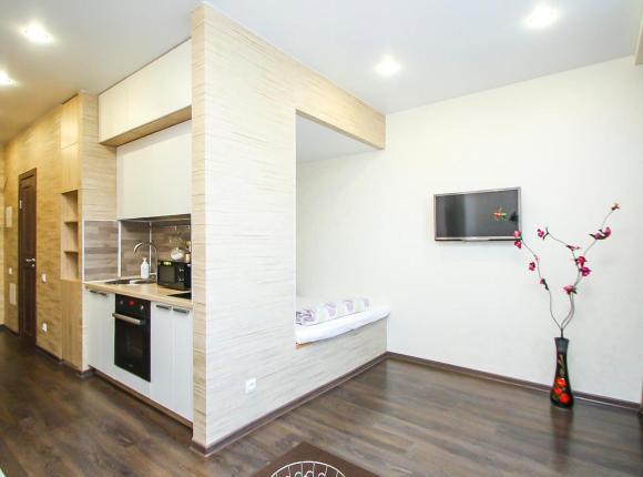 Добрый Дом - Студия в новом жилом комплексе около ТРЦ Сити Молл, Сургут