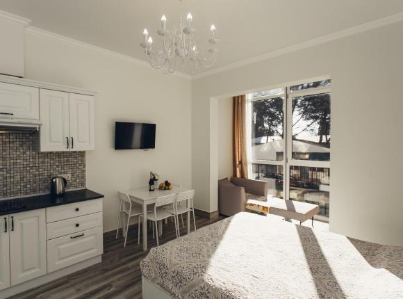 3 местная квартира в 10 минутах от Пляжа и Морского порта в центре Сочи