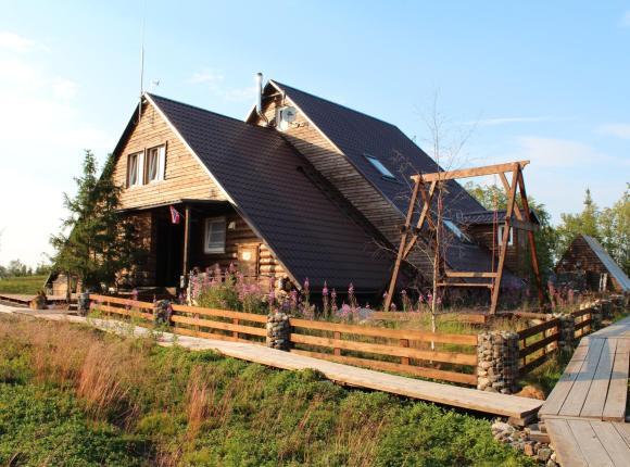 База отдыха Юлинская Салма, Ловозеро