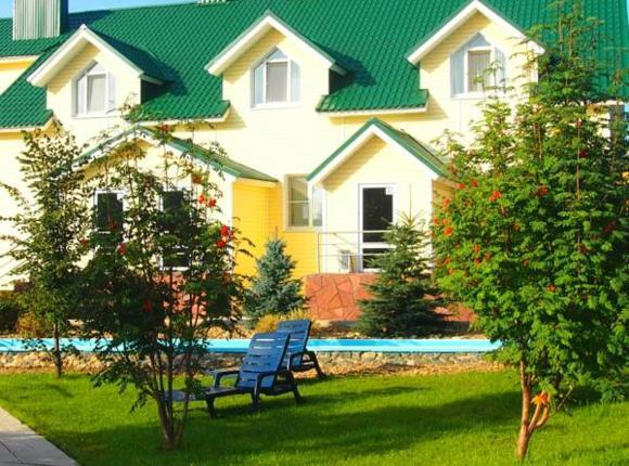 Дом отдыха Елизавета, Зелёная Поляна