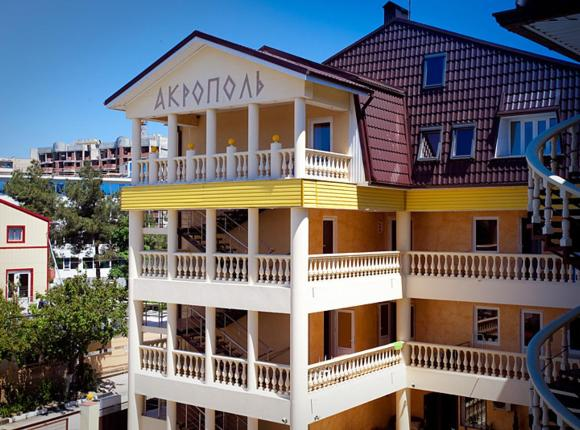 Отель Акрополь, Дивноморское