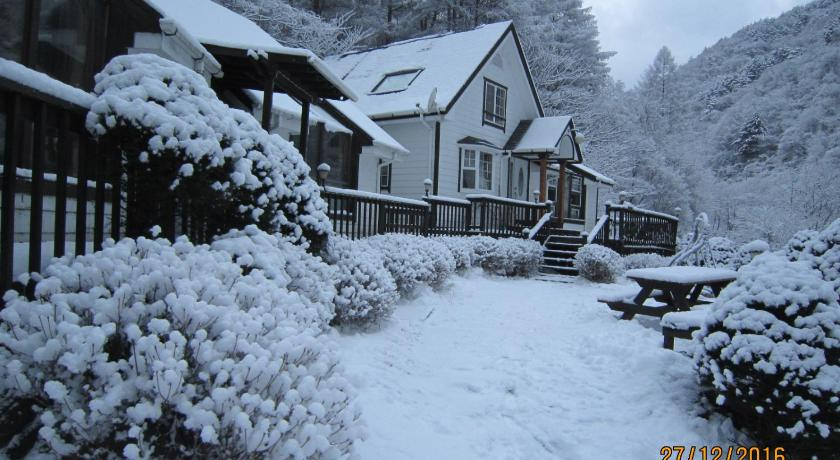 Best time to travel South Korea Small Village Pension