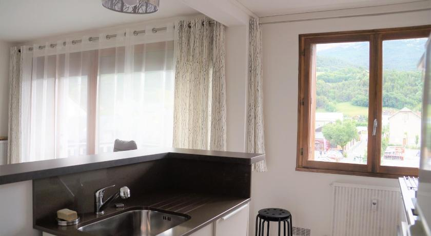 Apartmán s výhledem na hory Appartement Barcelonnette II