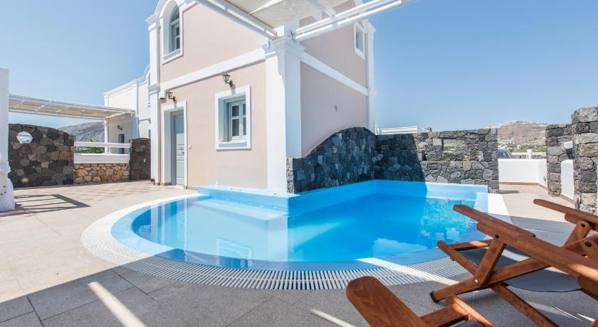 Best time to travel Santorini Secret Earth Villas - Santorini