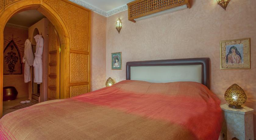 Standard Double Room Riad & Spa Laurence Olivier