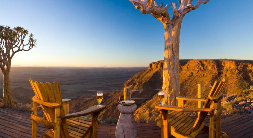 Best time to travel Namibia Fish River Lodge
