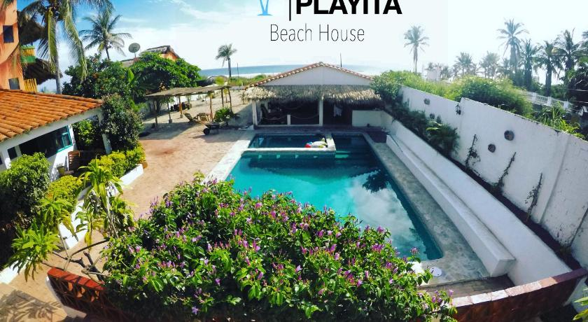 La Playita Beach House Guesthouse Bed