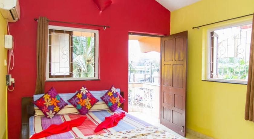 Twin Room 2-BR apartment in Candolim, Goa, by GuestHouser 2580