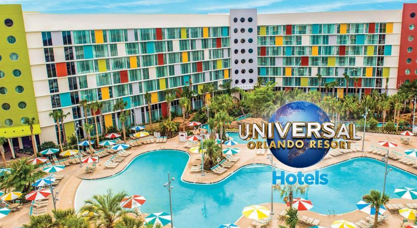 Best time to travel Orlando Universal's Family Suites at Cabana Bay Beach Resort