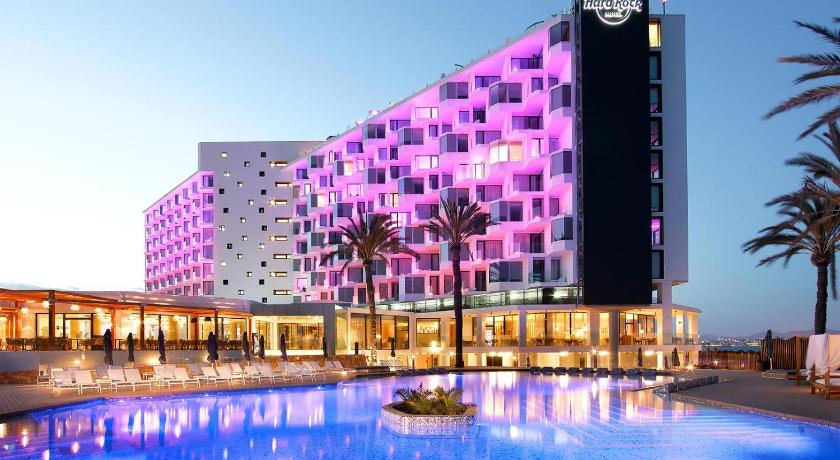 Best time to travel Spain Hard Rock Hotel Ibiza
