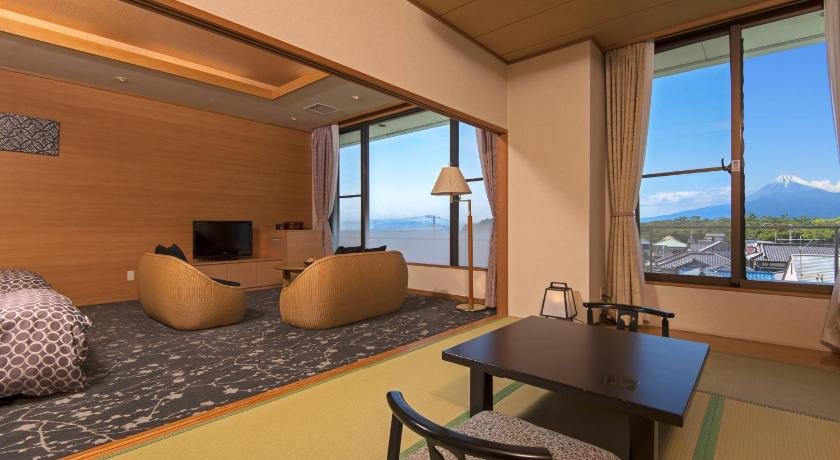 Room with Tatami Area with Mt. Fuji View