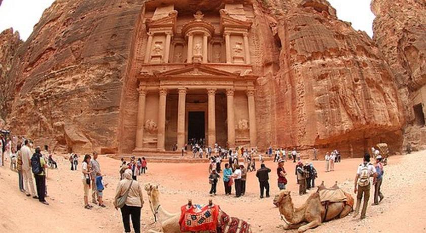Best time to travel Jordan Petra Sella Hotel