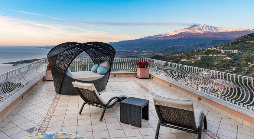 Villa Le Terrazze Charming Rooms Taormina Italija