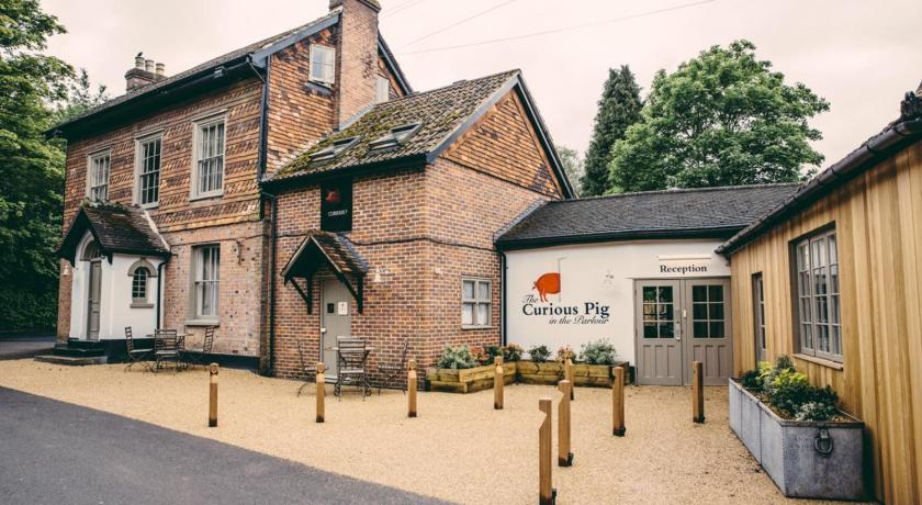 The Curious Pig In The Parlour Effingham Road Copthorne Burstow