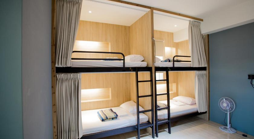 Bunk Bed in Female Dormitory Room- Travel Subsidy Program