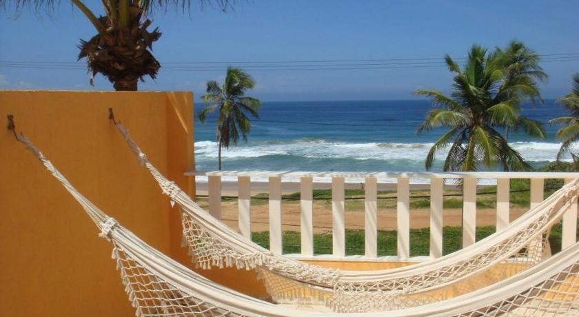 Best time to travel Brazil Duplex na beira da praia, de frente pro mar