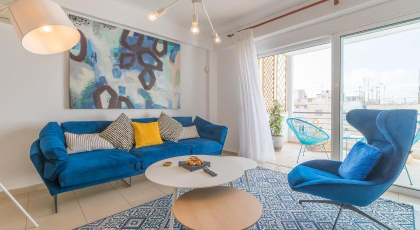 Best time to travel Greece Chic, Stylish & Central 2BDR Apt - Private Parking