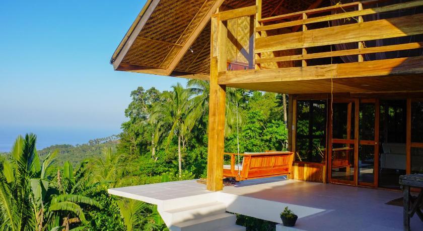Maisons du volcan Camiguin - Maison panoramique