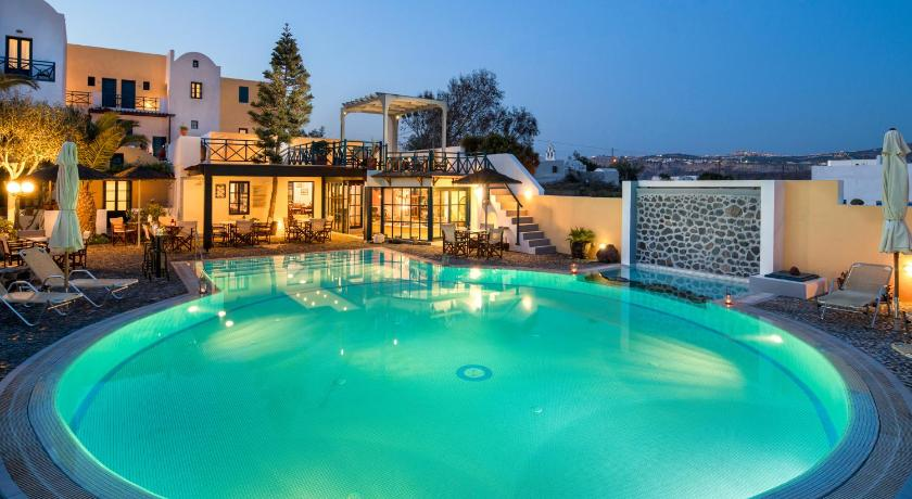 Best time to travel Santorini Kalimera Hotel