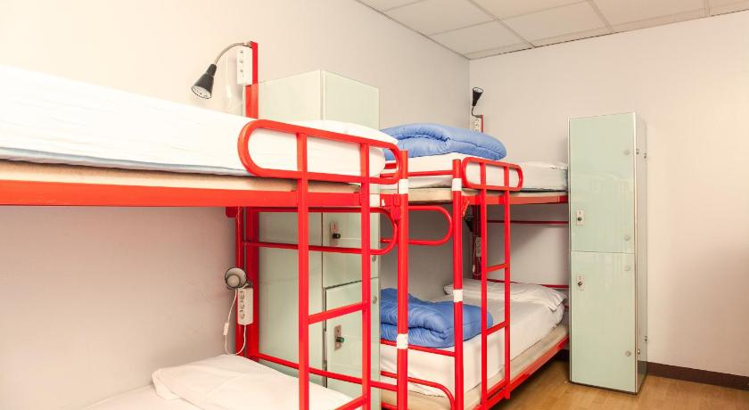 Bed in Mixed Dormitory Room with Shared Bathroom  Cats Chill Out Hostel Madrid