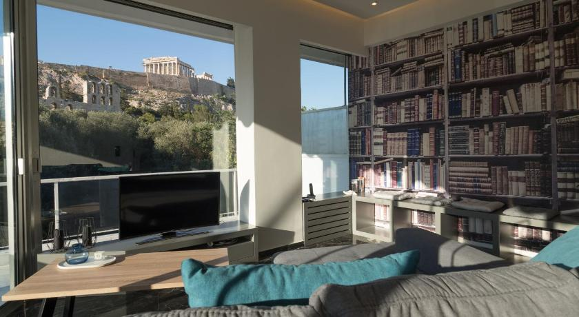Best time to travel Athens Luxury Veni Acropolis View Apartment