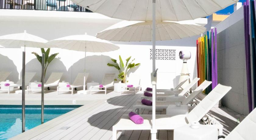 Best time to travel Ibiza The Purple Hotel - Gay Only