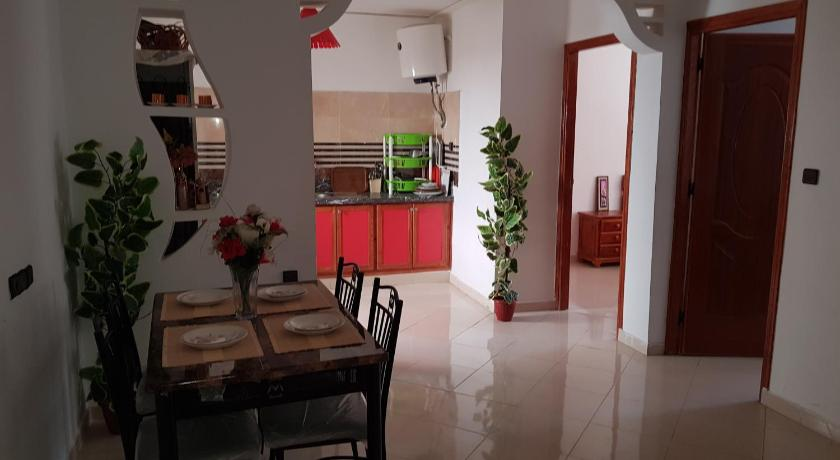 Best time to travel Oujda joli appartement 4 chambres