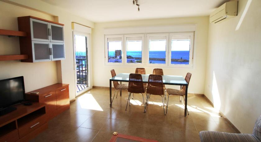 Best time to travel Almería Apartamento en primera linea de playa