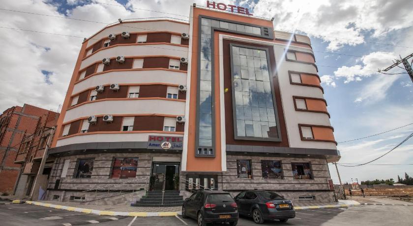 Best time to travel Algeria Hotel Amer